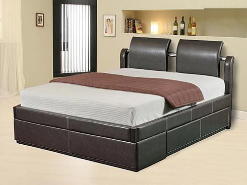 Venta de camas en madera bogota colombia modernas juegos - Camas tapizadas modernas ...