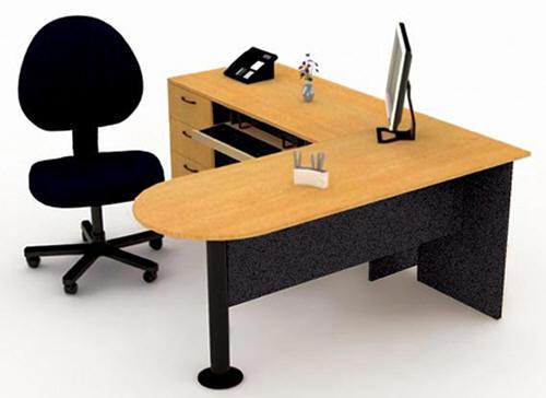 Escritorios para oficina muebles estudio puestos de for Muebles de oficina blancos